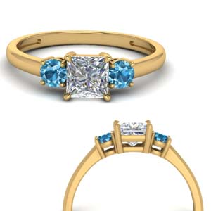 basket-3-stone-princess-cut-engagement-ring-with-blue-topaz-in-FD9166PRRGICBLTOANGLE3-NL-YG