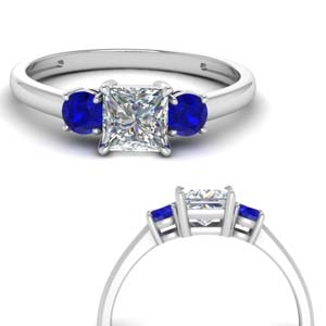basket-3-stone-princess-cut-engagement-ring-with-sapphire-in-FD9166PRRGSABLANGLE3-NL-WG