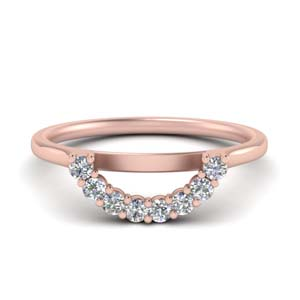 U Design Diamond Wedding Band