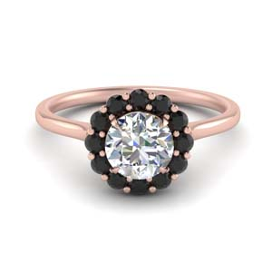 Black Diamond Ring For Women