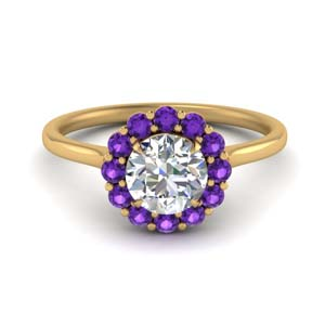 Cathedral Purple Topaz Ring