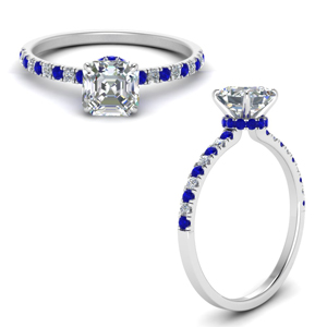 hidden-halo-petite-asscher-cut-diamond-engagement-ring-with-sapphire-in-FD9168ASRGSABLANGLE3-NL-WG