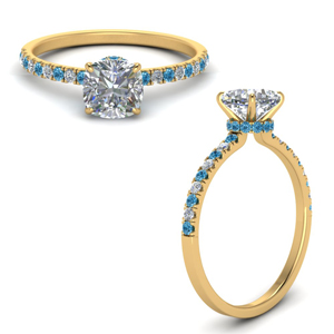 hidden-halo-petite-cushion-cut-diamond-engagement-ring-with-blue-topaz-in-FD9168CURGICBLTOANGLE3-NL-YG