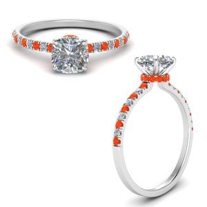 hidden-halo-petite-cushion-cut-diamond-engagement-ring-with-orange-topaz-in-FD9168CURGPOTOANGLE3-NL-WG