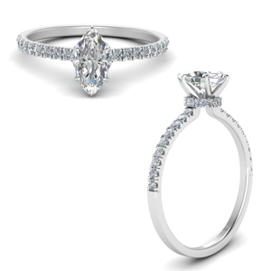 Popular Marquise Cut Rings