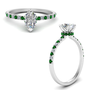 hidden-halo-petite-marquise-cut-diamond-engagement-ring-with-emerald-in-FD9168MQRGEMGRANGLE3-NL-WG