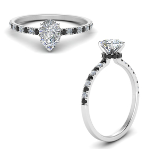 hidden-halo-petite-pear-shaped-engagement-ring-with-black-diamond-in-FD9168PERGBLACKANGLE3-NL-WG