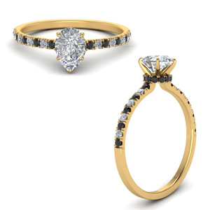 hidden-halo-petite-pear-shaped-engagement-ring-with-black-diamond-in-FD9168PERGBLACKANGLE3-NL-YG