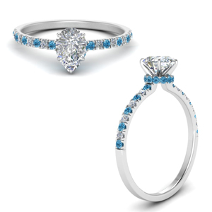hidden-halo-petite-pear-shaped-diamond-engagement-ring-with-blue-topaz-in-FD9168PERGICBLTOANGLE3-NL-WG