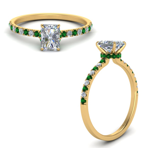 hidden-halo-petite-radiant-cut-diamond-engagement-ring-with-emerald-in-FD9168RARGEMGRANGLE3-NL-YG