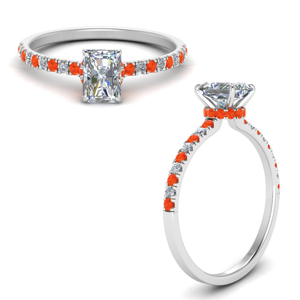 hidden-halo-petite-radiant-cut-diamond-engagement-ring-with-orange-topaz-in-FD9168RARGPOTOANGLE3-NL-WG