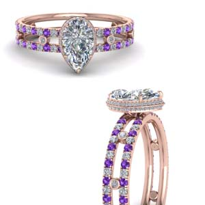 split-band-hidden-pear-halo-diamond-engagement-ring-with-purple-topaz-in-FD9171PERGVITOANGLE3-NL-RG