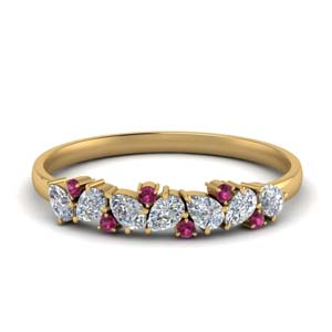 half-carat-pear-diamond-anniversary-band-with-pink-sapphire-in-FD9174GSADRPI-NL-YG