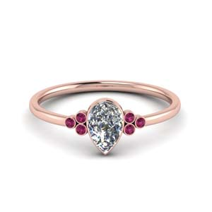 petite-bezel-set-pear-shaped-diamond-engagement-ring-with-pink-sapphire-in-FD9175PERGSADRPI-NL-RG