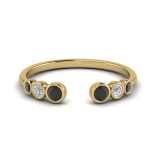 Petite Black Diamond Ring