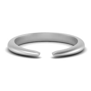 Tapered Open Ring