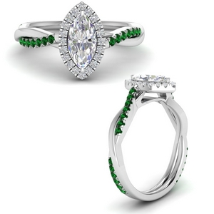 vine-marquise-halo-diamond-engagement-ring-with-emerald-in-FD9212MQRGEMGRANGLE3-NL-WG