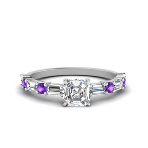 horizontal-baguette-asscher-cut-diamond-ring-with-purple-topaz-in-FD9234ASRGVITO-NL-WG