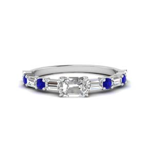 east-west-emerald-cut-ring-with-sapphire-in-FD9234GSABL-NL-WG