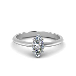 Marquise Marquise Trillion Antique Engagement Ring