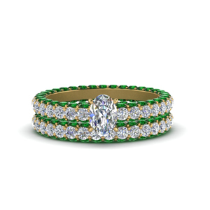 Eternity Band Engagement Ring