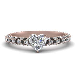 Pave Eternity Engagement Ring