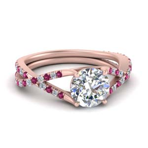 4-prong-split-twisted-diamond-ring-with-pink-sapphire-in-FD9246RORGSADRPI-NL-RG