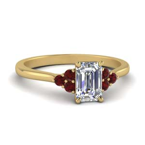Cathedral Ruby Ring For Women
