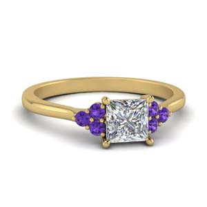 Petite Purple Topaz Ring