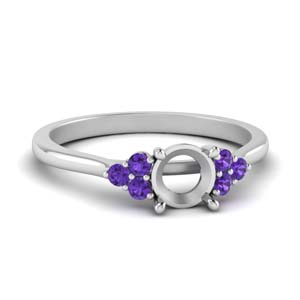 Petite Cathedral Ring Setting