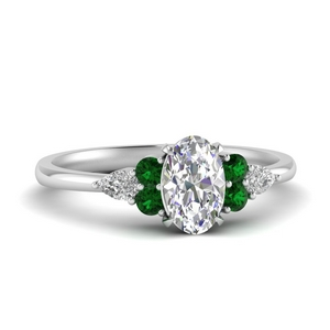 pear-accented-oval-shaped-diamond-ring-with-emerald-in-FD9289OVRGEMGR-NL-WG