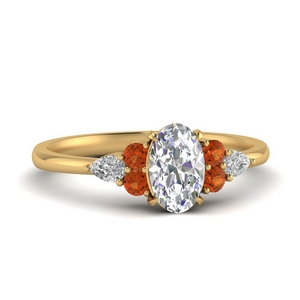 pear-accented-oval-shaped-diamond-ring-with-orange-sapphire-in-FD9289OVRGSAOR-NL-YG