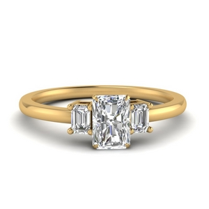 Delicate Three Stone Ring