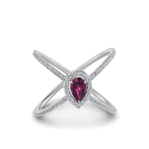 Pink Sapphire Rings For Women