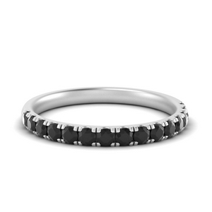 Black Diamond Pave Women Band