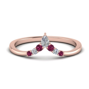 v-shaped-pear-and-round-diamond-wedding-band-with-pink-sapphire-in-FD9335BGSADRPI-NL-RG