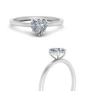 Heart Shaped Engagement Rings