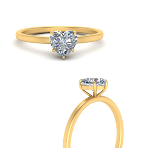 Thin Classic Solitaire Ring
