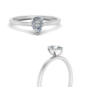 Classic Solitaire Lab Diamond Ring