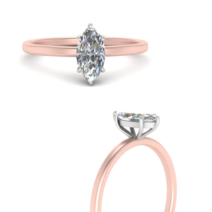 Two Tone Thin Ring