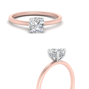 Stunning Halo Cushion Engagement Rings