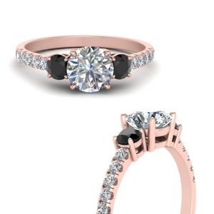 petite-micropave-three-stone-engagement-ring-with-black-diamond-in-FD9383RORGBLACKANGLE3-NL-RG