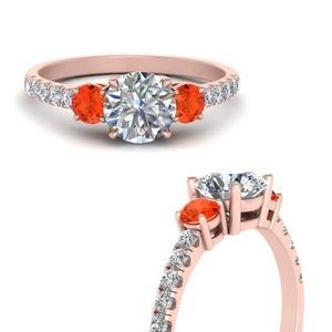 petite-micropave-three-stone-diamond-engagement-ring-with-orange-topaz-in-FD9383RORGPOTOANGLE3-NL-RG