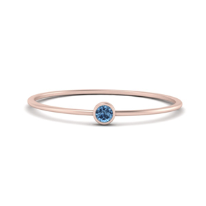 Topaz Tiny Stackable Ring