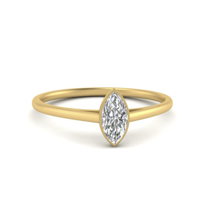 Womens Marquise Engagement Ring