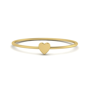 Stack Gold Heart Ring