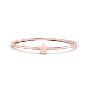 Rose Gold Thin Band Ring