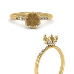 6-prong-semi-mount-flower-tapered-diamond-engagement-ring-in-FD9452SMRANGLE3-NL-YG