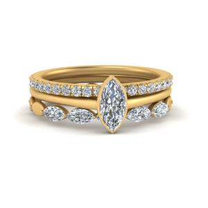 Trio Stacking Engagement Ring