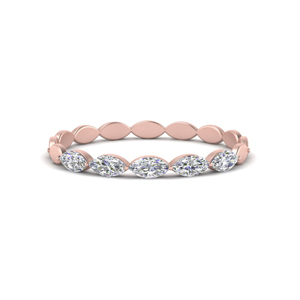 Marquise Diamond Stack Band